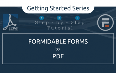 Send Formidable Forms to a PDF Certificate